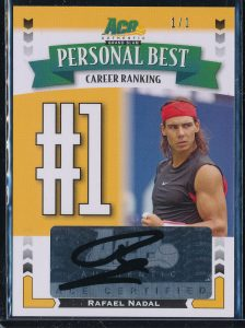2013 Ace Authentic Nadal Personal Best