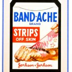 Artwork Topps Wacky Packages Band Aches