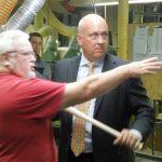 Louisville Slugger Factory Tour Cal Ripken Jr.