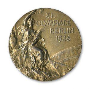 Jesse Owens 1936 Gold  Medal