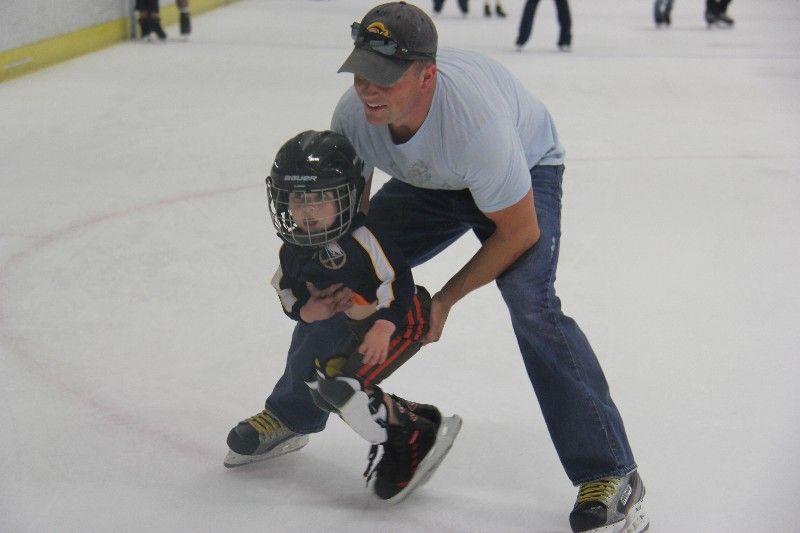 teaching hockey