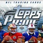 Topps 2013 Prime Football box
