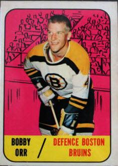 1967-68 Topps Bobby Orr