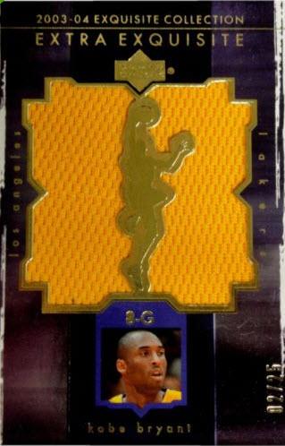 2003-04 Extra Exquisite Kobe Bryant