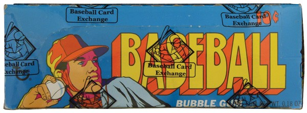 4th Series 1972 Topps Baseball unopened box
