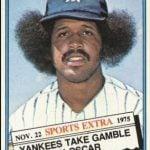 Oscar Gamble 1976 Topps Traded