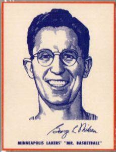 1952 Wheaties George Mikan