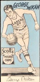 George Mikan Scott's Potato Chips