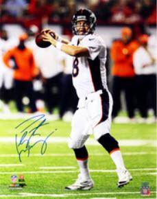 Peyton Manning autographed photo