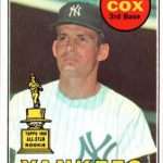 Bobby Cox rookie card