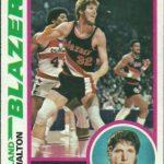 Bill Walton 1978-79 Topps card