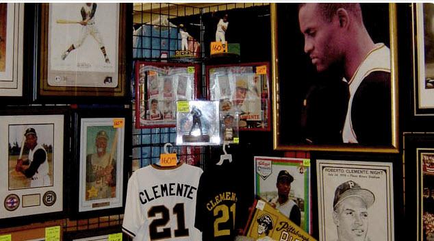 Clemente memorabilia