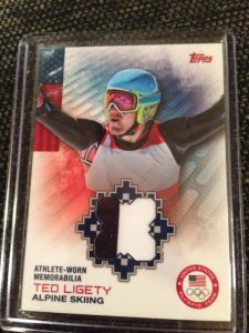 Ted Ligety relic card