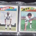 Topps 1977 Football Rack Pack