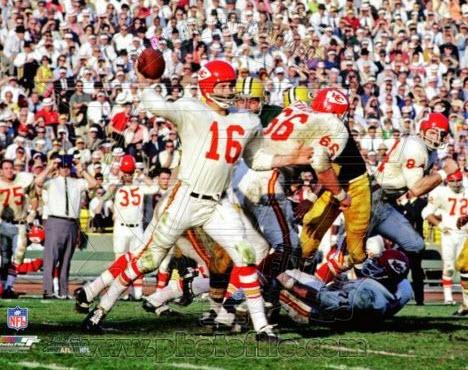 Len Dawson Chiefs Super Bowl I