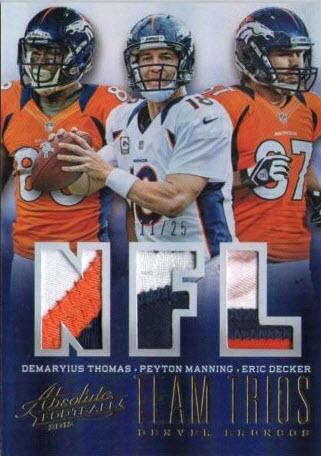 Absolute Team Trios Patch Broncos