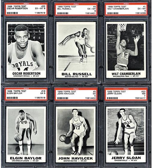 Topps Test Basketball 1968