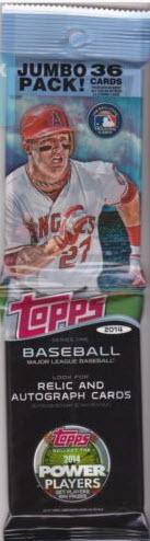 Topps baseball 2014 rack pack