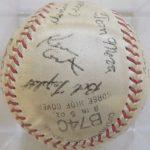 Kevin Costner 1968 signed baseball