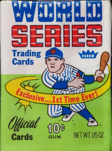 1970 Fleer World Series pack