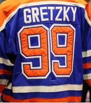 Game worn Wayne Gretzky jersey 1981-82 Edmonton