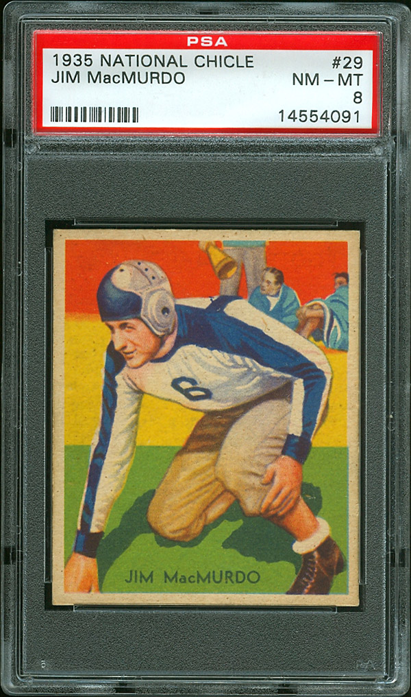 National Chicle Football 1935