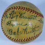 Autographed Ken Kaselnova ball