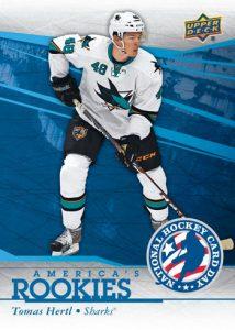 2014-Upper-Deck-National-Hockey-Card-Day-USA-America-Rookies-Tomas-Hertl