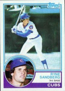 1983 Topps Ryne Sandberg