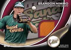Debut Duds 2014 Topps Pro Debut Nimmo