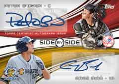 Side by Side Autograph 2014 Topps Pro Debut Baseball