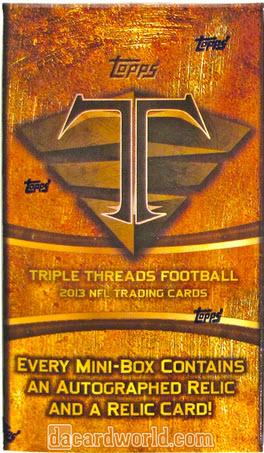 2013 Triple Threads Football Box