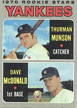 1970 Topps Munson