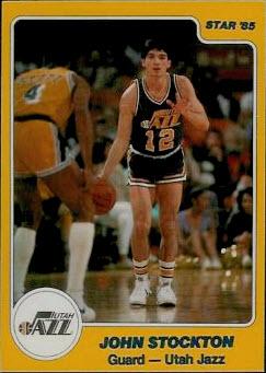 1984-85 Star John Stockton
