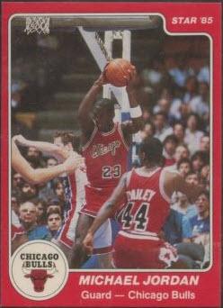 1984-85 Star Jordan