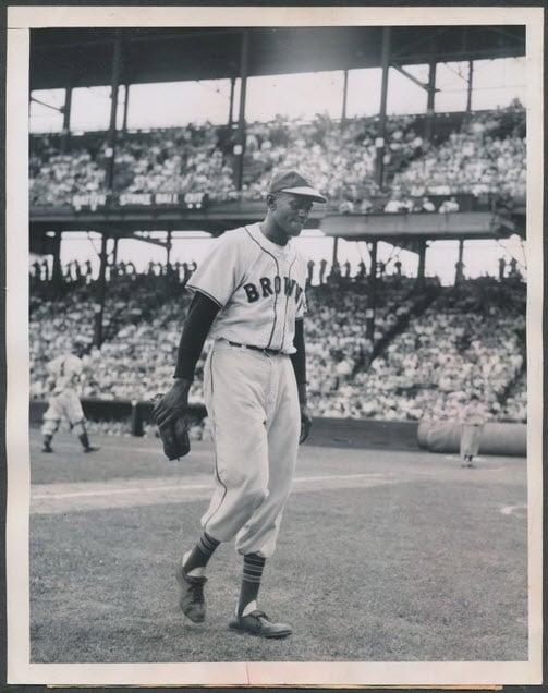 1951 photo Satchel Paige St. Louis Browns