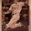Mike Trout 2014 Topps Chrome Sepia