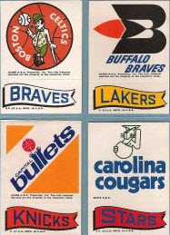 1973-74 Topps Stickers