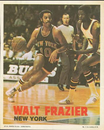 1970-71 Topps Poster Walt Frazier
