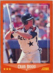 1988 Score Update Craig Biggio