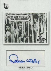 Dawn Wells autograph