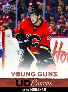 NHLPA-Agreement-2013-14-NHL-Upper-Deck-Sean-Monahan-Canvas-Young-Guns