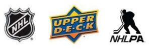 Upper Deck NHL logos