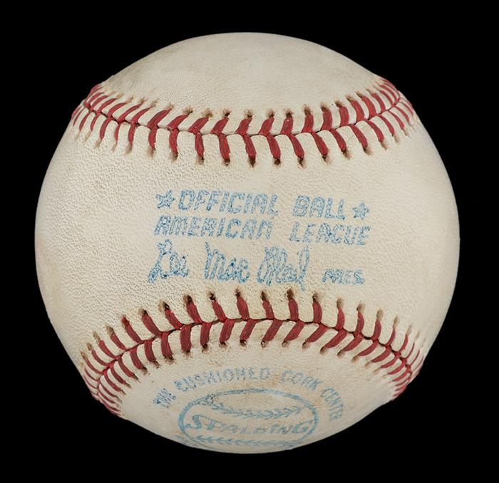 1975 home run ball Carlton Fisk