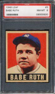 Babe Ruth 1948 Leaf