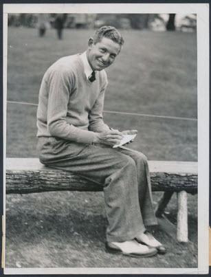 1934 Masters winner Horton Smith