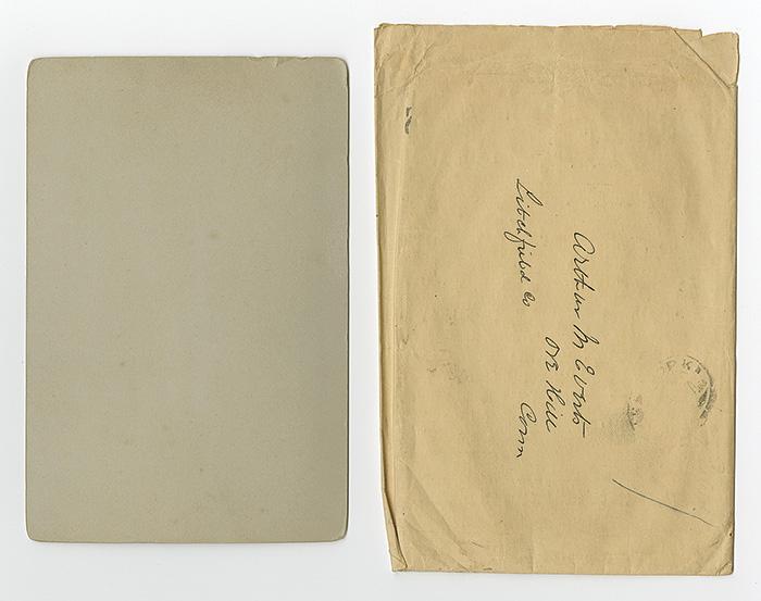 envelope 1889 Police Gazette