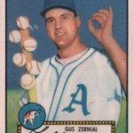 Gus Zernial 1952 Topps