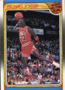 1988-89 Fleer Jordan All-Star