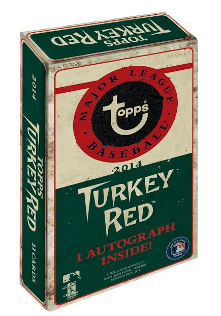 2014 Topps Turkey Red Baseball box